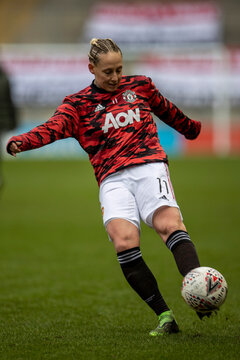 2021 Womens Super League Football Manchester United v Reading Feb 7th