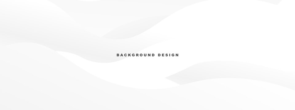 White abstract modern background design. wave texture style.