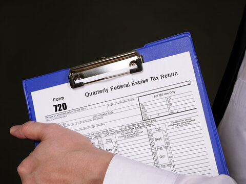 Form 720 Quarterly Federal Excise Tax Return