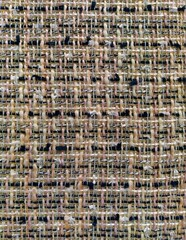 multi-colored tweed woven fabric textile, Chanel style classic fabric