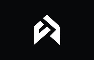 Fototapeta Initial based T, TT, UT, TU, MU, UM,  logo template. Unique monogram alphabet letters design and vector. obraz