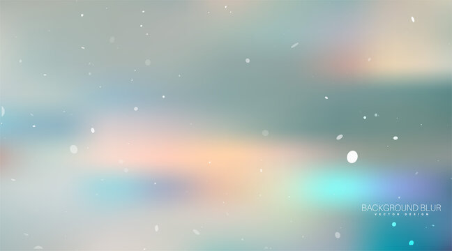 Abstract blurred gradient background. Vector illustration. Concept for your graphic design
