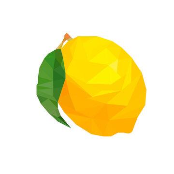 lemon low poly