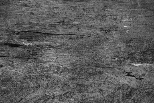 black old wood