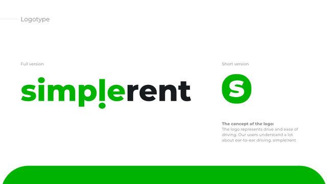 Logo rent car