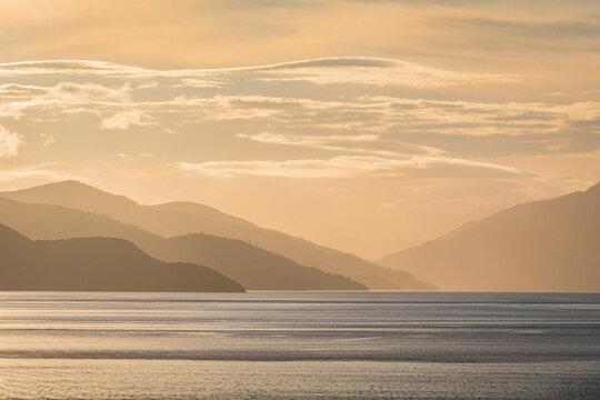 Beautiful ocean cost in beautiful New Zealand