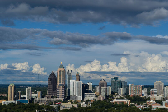 Midtown Skyline, Atlanta, Georgia