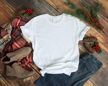 bella canvas 3001 t-shirt mockup