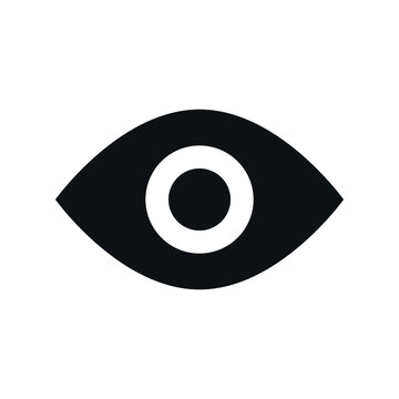 Eye icon for graphic design projects