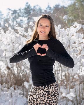 Laufen im Schnee