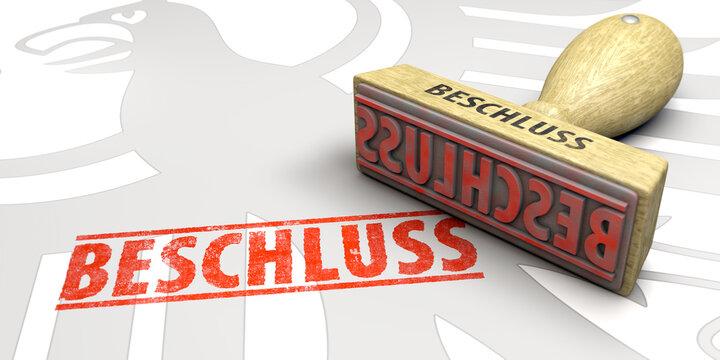 Beschluss Bundesregierung Deutschland