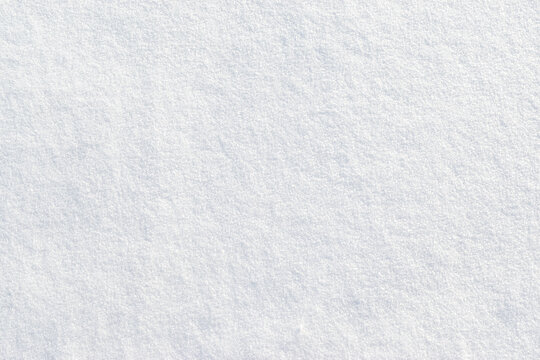 White snow textured background. Top view.