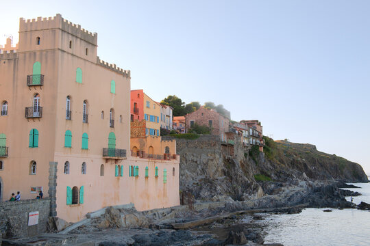 Collioure at the quest coast France