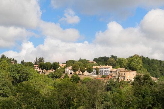 Village Saissac in France
