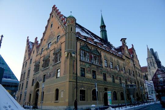 Rathaus Ulm Fassade