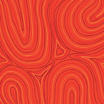 Australian Waterhole Art Background in vector format.