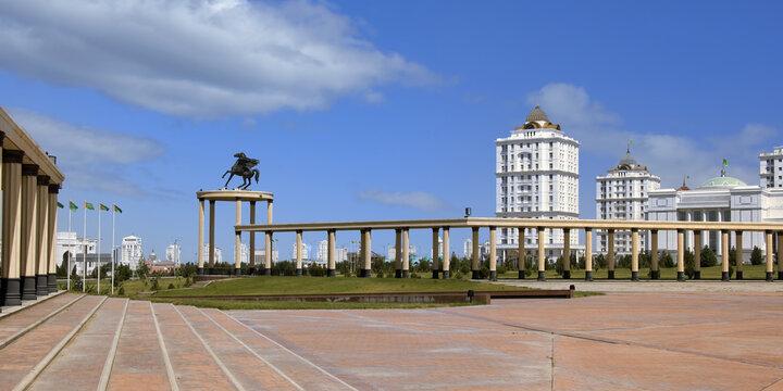 National Museum, Ashgabat, Turkmenistan, Central Asia
