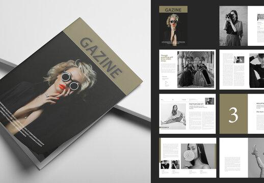Fashion and Lifestyle Magazine Layout