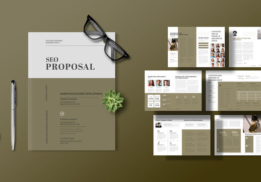 Seo Project Proposal Layout