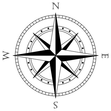 Nautical compass, Compass svg, Rose of winds, Navigation