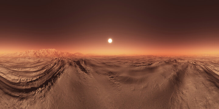 Mars HDRI Environment Map