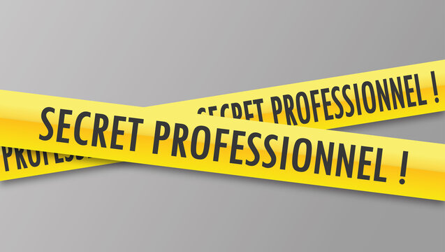 Logo secret professionnel.