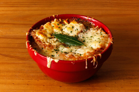 Yummy French onion soup