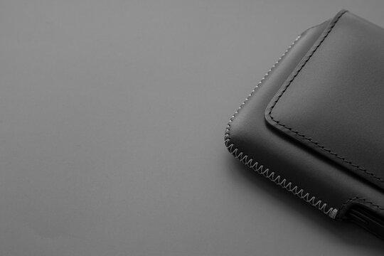 Leather belt case telephone premium