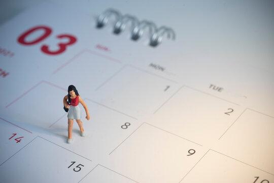 Happy women's day celebration concept.