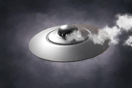 An UFO on approach