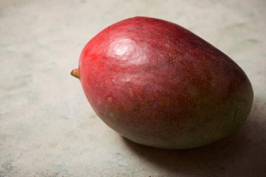 Ripe mango view