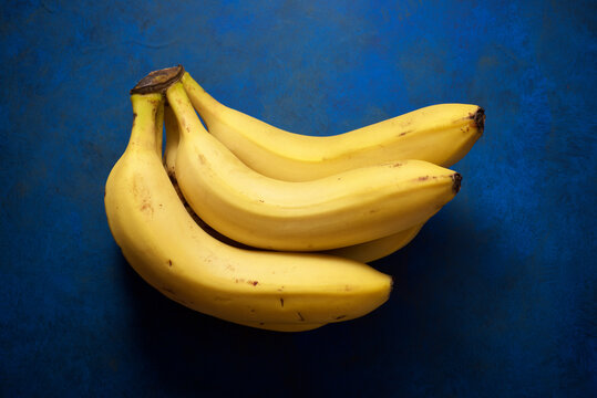 Bunch of Canarian bananas