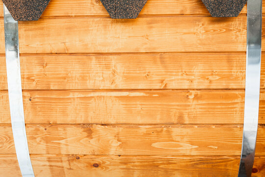 light background from natural wooden boards