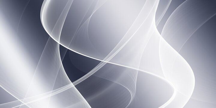 Abstract soft blue and white wave background