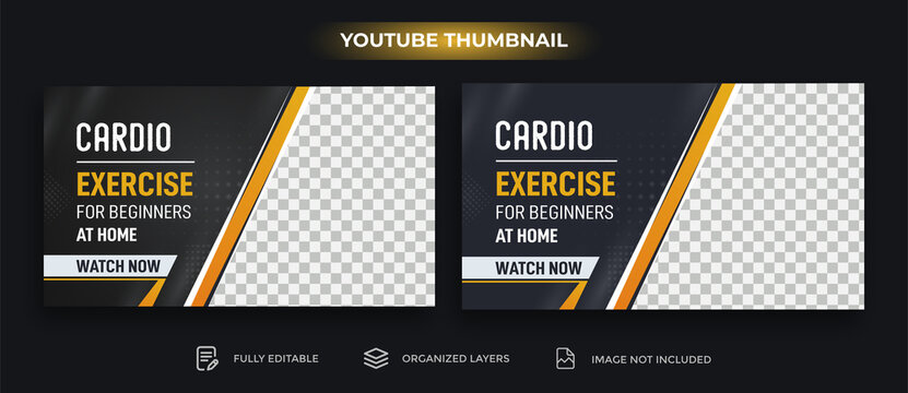 Youtube Play Button Youtube Thumbnail Template