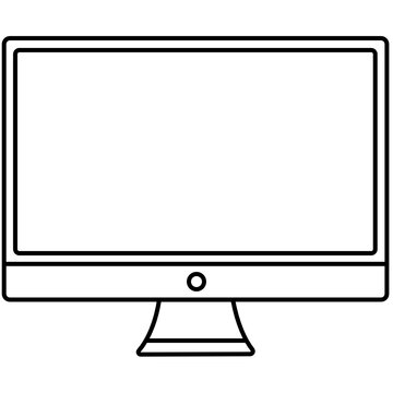 Computer monitor screen display