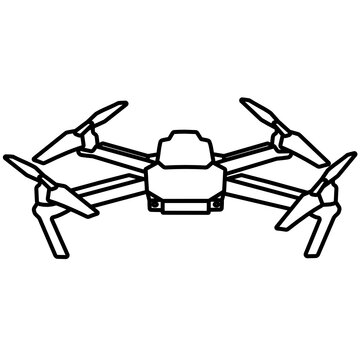 Flying Drone icon
