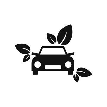 Eco friendly Car Logo Template Design Vector