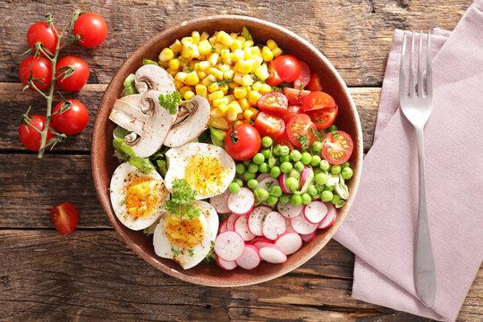 health food- vegetable salad