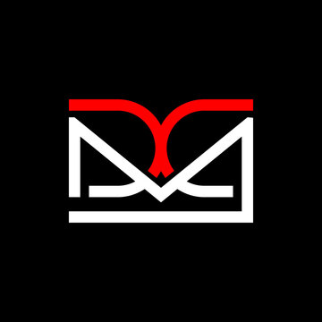 Letter MDC Line Abstract Logo Design