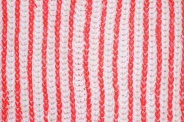 Fototapeta Tekstura szal biało pomarańczowy