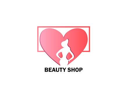 Beauty Shop Logo Template Design