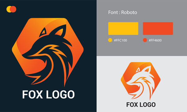 Fox Logo Collection Different Templates Free Download