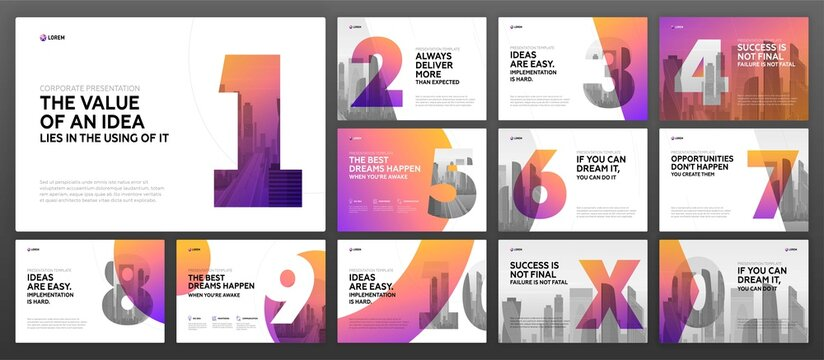 Company Profile and Infographic Idea