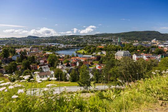 Trondheim panoramic view
