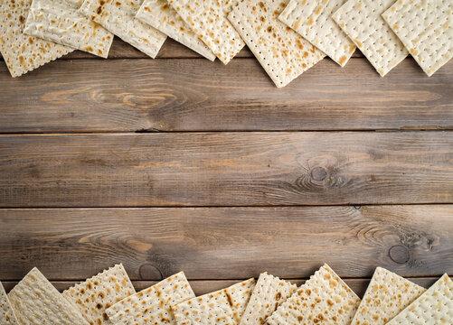 Judaism religious jewish holiday matza on passover.