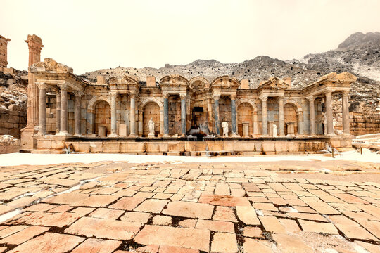 Welcome to Sagalassos. Isparta, Turkey.To visit the sprawling ruins of Sagalassos, high amid the jagged peaks of Akdag, is to approach myth: the ancient ruined city set in stark