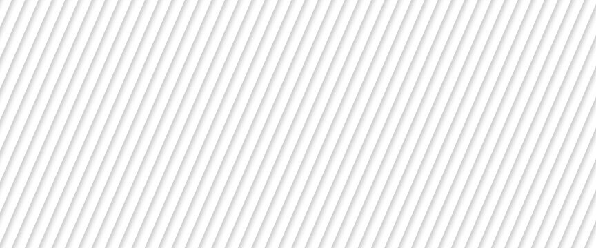 Abstract white striped background with diagonal lines. Vector abstract background for banner design. blend lines with oblique stripe vector illustration