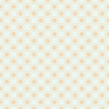 Background of cryptocurrency coin. Seamless pattern with Cardano. Vector.