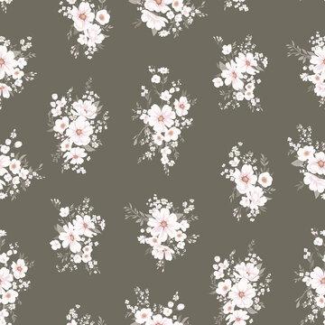 Seamless spring vector pattern 1